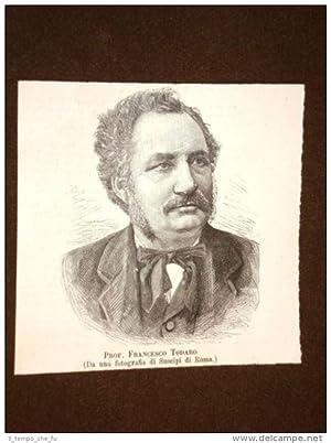 Francesco Todaro nel 1889 Tripi, 14 febbraio