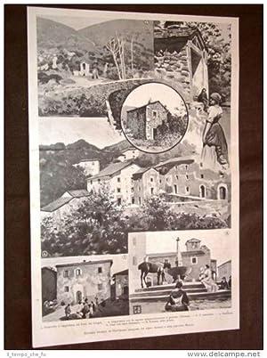 Gavinana nel 1898 Fonte dei Gorghi Castelletto