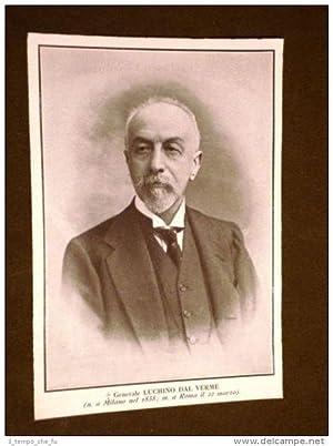Generale Luchino Dal Verme Nato a Milano