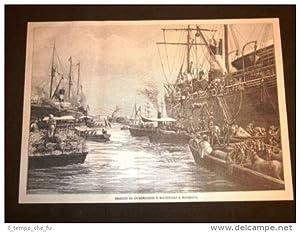 Guerra in Africa nel 1896 Sbarco di