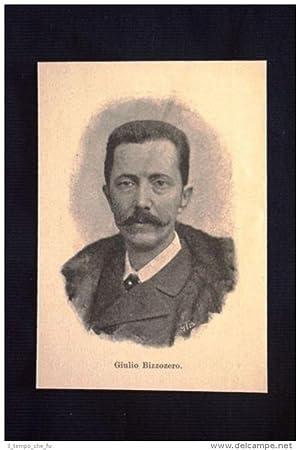 Il medico italiano Giulio Bizzozero