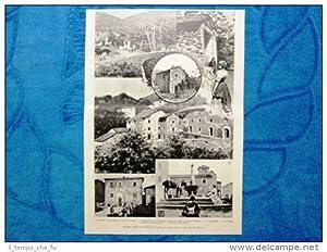 Illustrazione Italiana 1898 - Ricordi storici di