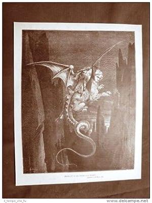 Incisione di Gustave Dorè del 1890 Gerione