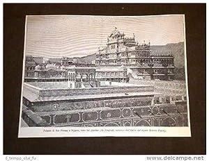 Jeypur o Jeypore Palazzo di Ras Putanà