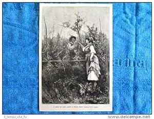 L'amore nei campi, quadro di Fausto Zonaro