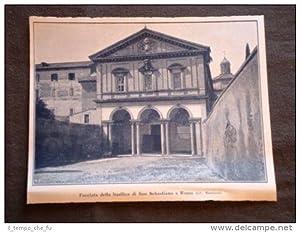 La Basilica di San Sebastiano in Roma