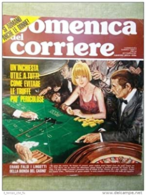 La Domenica del Corriere 16 Gennaio 1975