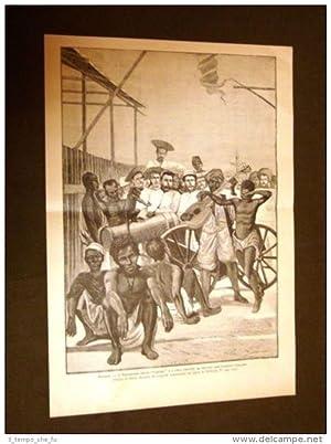 Massaua nel 1886 Massawa o Batsi Equipaggio