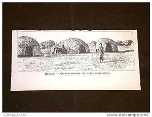 Massaua o Massawa Capanne Indigene Eritrea