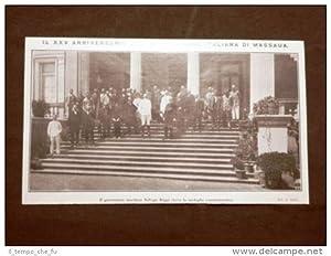 Massaua o Massawa nel 1910 25° dell'occupazione