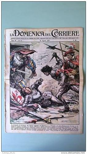 La Domenica del Corriere 18 agosto 1957