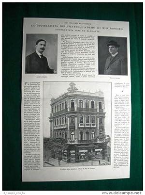 Nel 1924 Rio de Janeiro gioielleria Fratelli