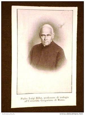 Padre Luigi Billot nel 1911 Professore di