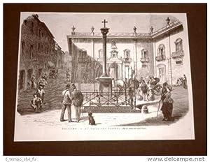 Palermo nel 1876 La Croce dei Vespri