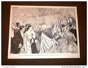 Parigi nel 1879 Festa Teatro dell'Opera pro