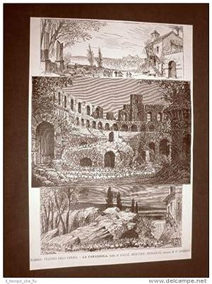 Parigi nel 1884 Teatro dell'Opera La Farandola