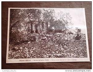 Presso Adicaie nel 1896 Rovine dell'antica Colloe
