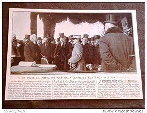Re Vittorio Emanuele III di Savoia nel