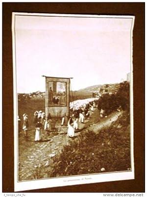 Roma nel 1911 La Processione di Natale