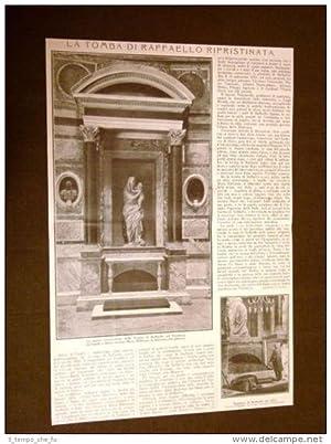 Roma nel 1911 La tomba di Raffaello