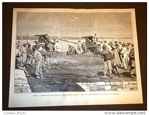 Spedizione Africa nel 1887 Cacciatori d'Africa Massaua