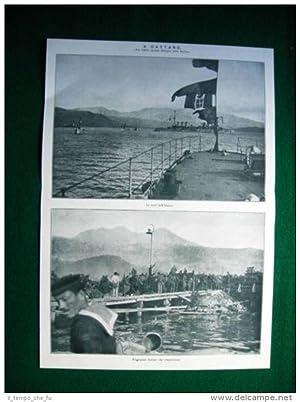 WW1 Guerra Mondiale 1918 Cattaro Trieste di