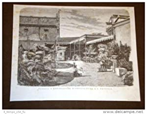 Venezia nel 1875 Esposizione d'orticoltura a San