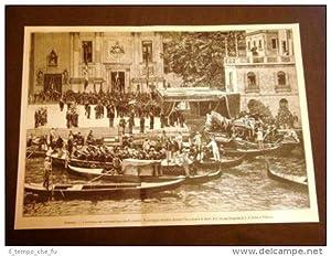Venezia nel 1887 Funerale di Giacomo Favretto