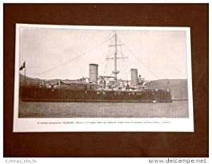 WW1 Prima guerra mondiale 1914-1918 Incrociatore Garibaldi