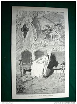 1884 - Soli, quadro di Giacomo Favretto