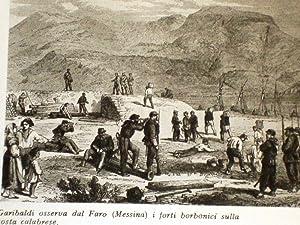 Garibaldi Sicilia Condottiero osserva dal Faro Forti