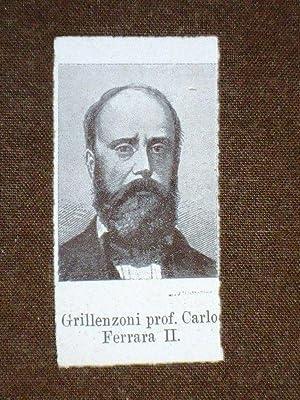 Deputato nel 1861 Carlo Grillenzoni di Ferrara