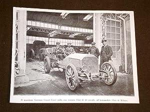 Automobile Club di Milano nel 1905 Marchese