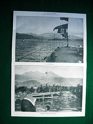 WW1 Guerra Mondiale 1918 Cattaro + Trieste
