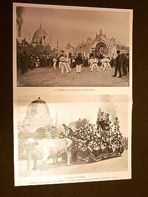 Esposizione Universale di Parigi nel 1900 Festa