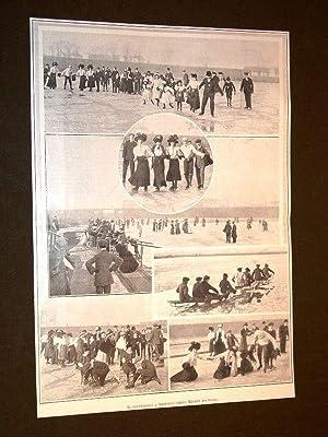 Il pattinaggio a Restocco nel 1908 Milano