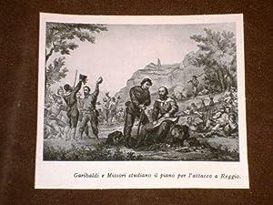Garibaldi in Calabria Il Condottiero e Missori