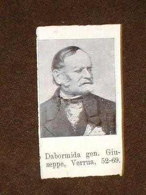Deputato Giuseppe Dabormida di Verrua e Giuseppe