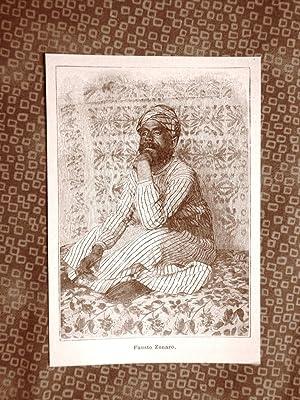 Fausto Zonaro nel 1894 Masi, 18 settembre
