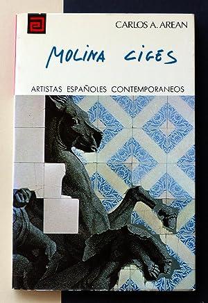 Artistas españoles contemporáneos. MOLINA CIGES: Carlos A. Arean