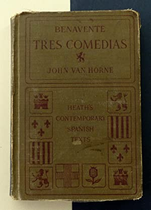 Benavente. Tres comedias. Heath's contemporary Spanish texts