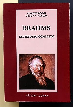 Brahms. Repertorio completo: Amadeo Poggi y