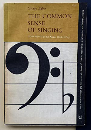 The common sense of singing