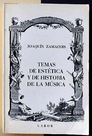 Temas de estética y de historia de: Joaquín Zamacois
