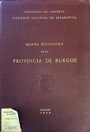 Reseña Estadística de la Provincia de Burgos.