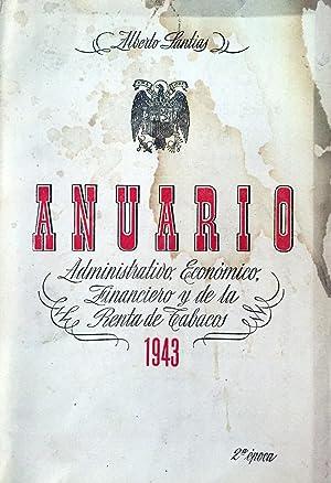 Anuario administrativo, económico, financiero y de la: SANTÍAS Y G.