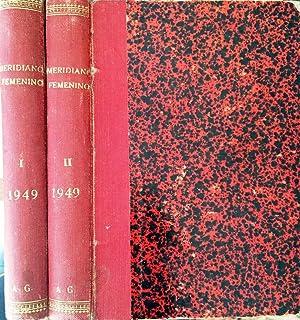 Meridiano Femenino. Suplemento de Meridiano. Año 1949: VV AA