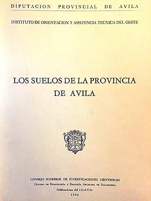 Los suelos de la provincia de Ávila.: VV. AA.
