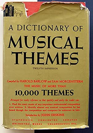 Dictionary of Musical Themes (A Benn study : Music)