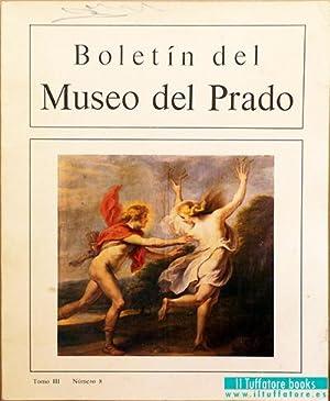 Boletín del Museo del Prado. Tomo III, número 8. Mayo- agosto 1982: Sopeña, Federico,...